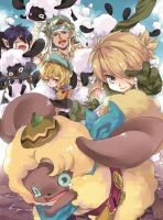 Harvest Moon doujinshi by red-kid-chin