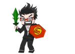 Captainsparklez Chibi by AevusAeon