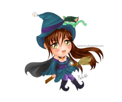 Sayuri the witch [For LeyzelElphen] by Mante-KO