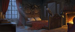Witch's bedroom by sashulka