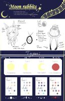 Species: moon rabbit sheet by Sternenmelodie