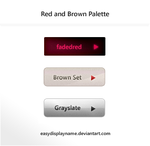 Red and Brown Palette by easydisplayname