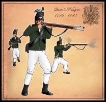 The Queen's Rangers 1776-1783 by SimonLMoore