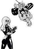 Amazing Team-Up - B and W by Revan-Ghost