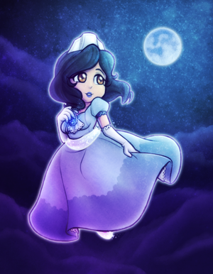 GIFT ~ Blue Moon Maiden by Castle-Sass