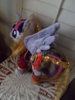 My little pony Twilight Alicorn Belly Dancer plush by CINNAMON-STITCH