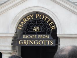 Escape from Gringotts by msbrit90