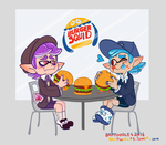 Burger Squid by Brittoodles