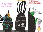 A very alien Easter! by IllyDragonfly
