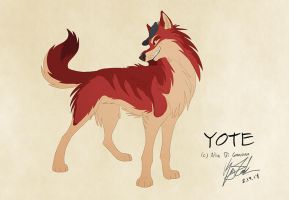 Yote - Commission by KayFedewa