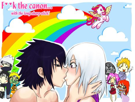 F..K the canon with SasuSui by Yami-No
