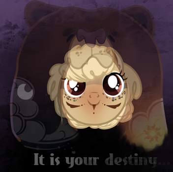 It is your destiny.. by CRAZYlama688