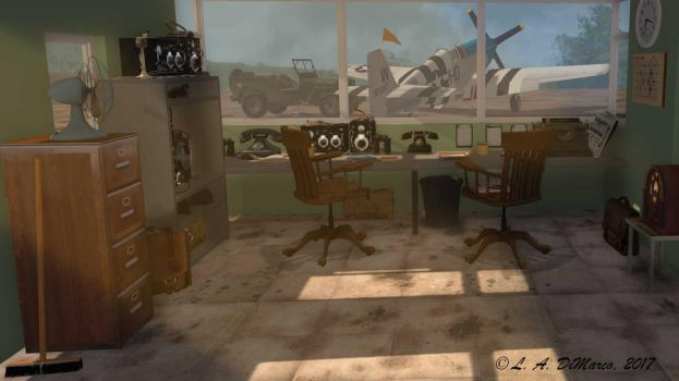 Flight Operations 1944 by ADiMarco