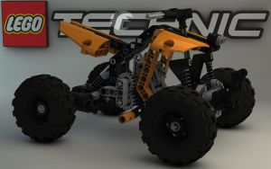 LEGO TECHNIC Quad Bike 9392 I by Dracu-Teufel666