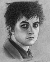 Green Day-Billie Joe Armstrong by AmyCornelson