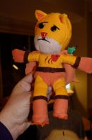 Catman Voodoo Doll Plushie by deense