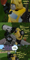 Bumblebee - Spying by dionski