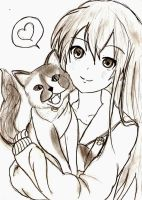 Me and Roza ^^ by princesskaoru
