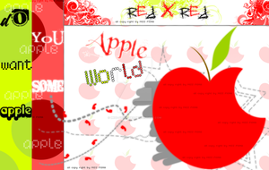 I Love Apple by Miss-Fiona-Des