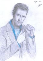 Hugh Laurie - Dr. House by shadow-inferno