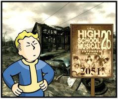 Fallout Highschool Musical 26 by LightWestern
