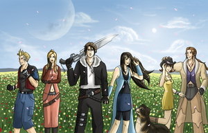 Final Fantasy VIII by Arabesque91