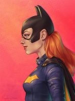 Batgirl of Burnside by ribkaDory