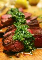 Flank Steak with Chimichurri by ThomasVo