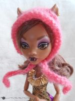 Pixie hat for Monster high by kivrin82