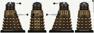 Time War Black Dalek by Librarian-bot