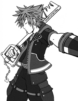 Sora Selfie by colormymemory