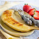 grilled banana with honey and ginger by Pokakulka