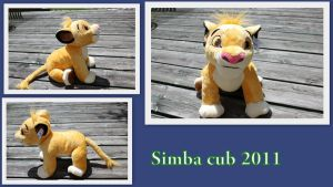 Simba cub 2011 by Laurel-Lion