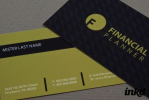 Financial Planner Business by inkddesign