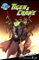 Tiger and Crane Issue 2 by BLUEWATERPROD