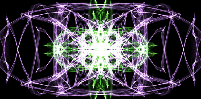 Purple and Green Pattern by millyfan224