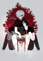 Fanart tokyo ghoul by KanorR