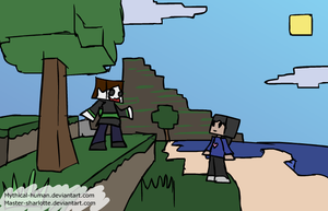 Welcome to minecraft by Mythical-Human