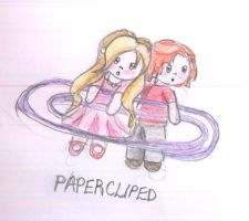 paper-cliped by greentomatoes
