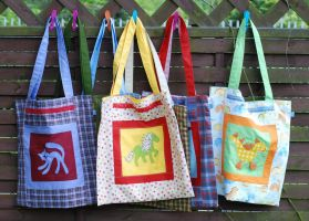 patchwork bags by iasio