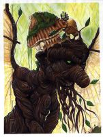 The Wood Gnarl by Indirie