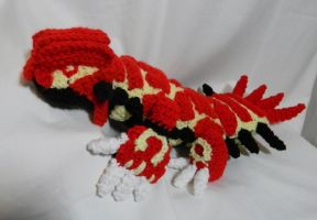 Primal Groudon ami by gwilly-crochet