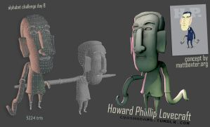 H is for Howard by CrashAdams