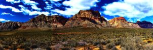 Panoramic- Red Rock by JandJPhotography
