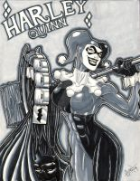 Harley Greyscale Markers by soulshadow