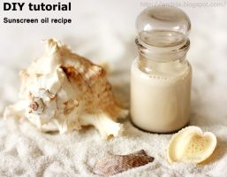 DIY tutorial Sunscreen oil recipe by Arctida