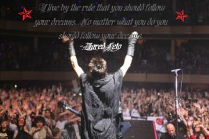 Jared Mars 300 dreams quote wallpaper by EchelonMars14