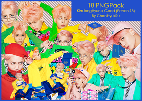 18 / KimJongHyun x Good PNGPack by ChanHyukRu