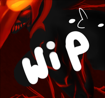 .::WIP::.  The Searing Warrior by SakiCakes