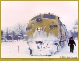 Blizzard of 67 II by classictrains